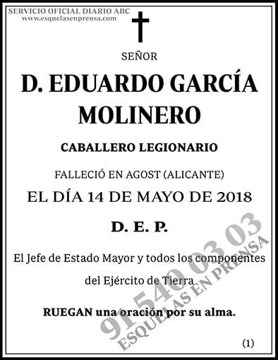 Eduardo García Molinero